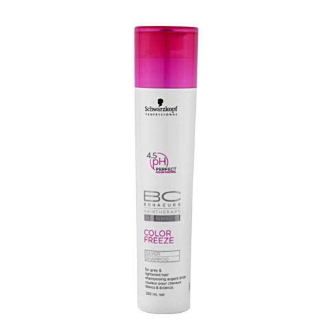 Schwarzkopf BC Bonacure Color Freeze Silver Shampoo 250ml - Shampooing pour les nuances froides