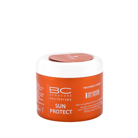 Schwarzkopf BC Bonacure Sun Protect Treatment Cream 150ml - Masque nutri-réparateur intense