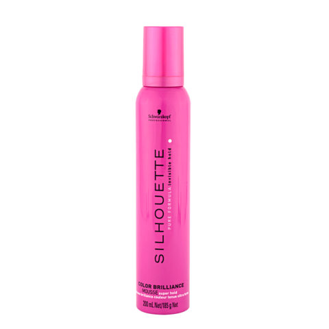 Schwarzkopf Silhouette Color Brilliance Super Hold Mousse 200ml - Mousse volumiante