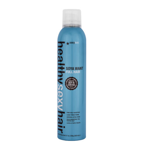 Healthy Sexy Hair Soya Want Full Hair Firm Hold Hairspray 300ml
