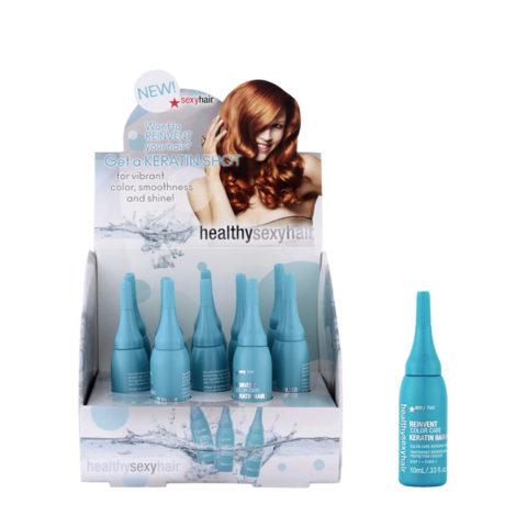 Healthy Sexy Hair Reinvent Keratin Hair Filler 10x10ml