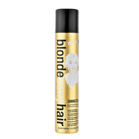 Blonde Sexy Hair Shining Star Color Preserving Spray 125ml - spray de brillance