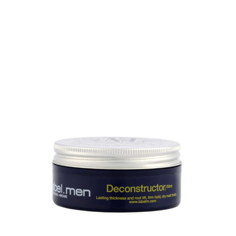 Label.Men Deconstructor 50ml - pâte mate polyvalente