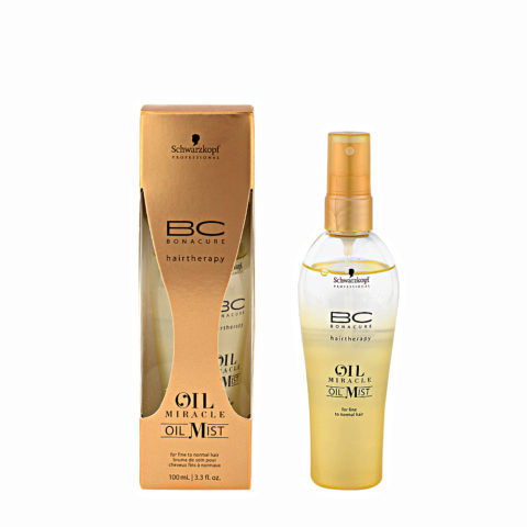 Schwarzkopf Professional BC Oil miracle Oil mist Fine to normal hair 100ml - Huile multifonctions