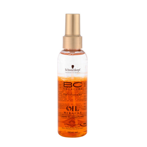 Schwarzkopf Professional BC Oil miracle Liquid oil conditioner Fine to normal hair 150ml - Huile multifonctions