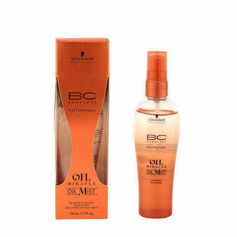 Schwarzkopf Professional BC Oil miracle Oil mist Normal to thick hair 100ml - Huile multifonctions
