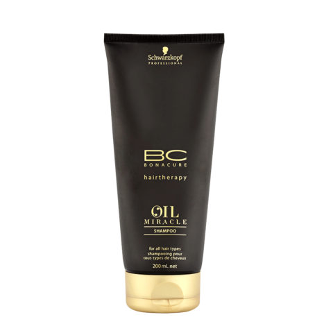 Schwarzkopf Professional BC Oil miracle Shampoo for all hair types 200ml - Shampooing