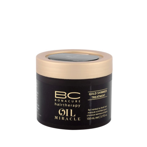 Schwarzkopf Professional BC Oil miracle Gold shimmer Treatment Normal to thick hair 150ml - Masque restructurant
