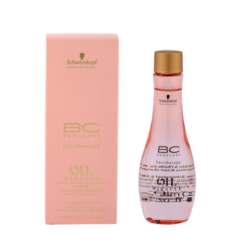 Schwarzkopf Professional BC Oil miracle Rose oil Hair & scalp treatment 100ml - Huile pour cuirs chevelus