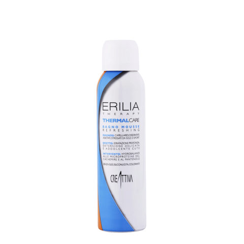 Erilia Thermal care Bagno mousse Refreshing 150ml - shampooing mousse hydratant