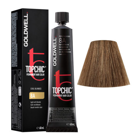 8A Blond cendré clair Goldwell Topchic Cool blondes tb 60ml