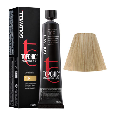 10P Blond perlé pastel Goldwell Topchic Cool blondes tb 60ml