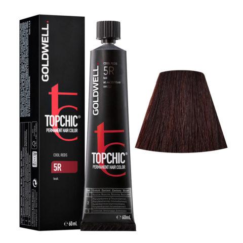 5R Teak Goldwell Topchic Cool reds tb 60ml