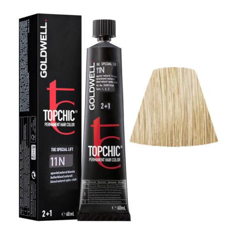 11N Blond naturel special-clair Goldwell Topchic Special lift tb 60ml