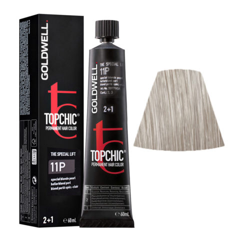 11P Blond perlé special-clair Goldwell Topchic Special lift tb 60ml