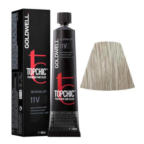 11V Blond violet special-clair Goldwell Topchic Special lift tb 60ml