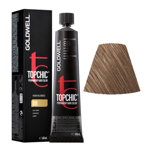 8B Sable Goldwell Topchic Warm blondes tb 60ml