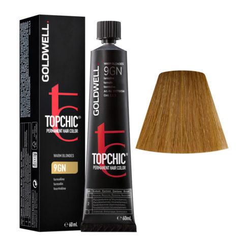 9GN Tourmaline Goldwell Topchic Warm blondes tb 60ml
