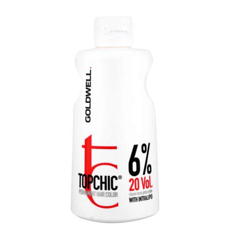 Goldwell Topchic Cream developer lotion 6% 20 vol. 1000ml