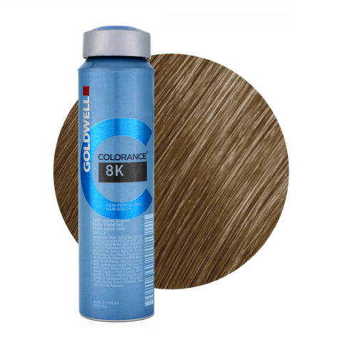 8K Blond cuivré clair Goldwell Colorance Warm reds can 120ml