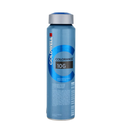 10G Blond champagne Goldwell Colorance Warm blondes can 120ml