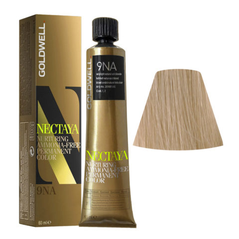 9NA Blond cendré naturel trés clair Goldwell Nectaya Cool blondes tb 60ml