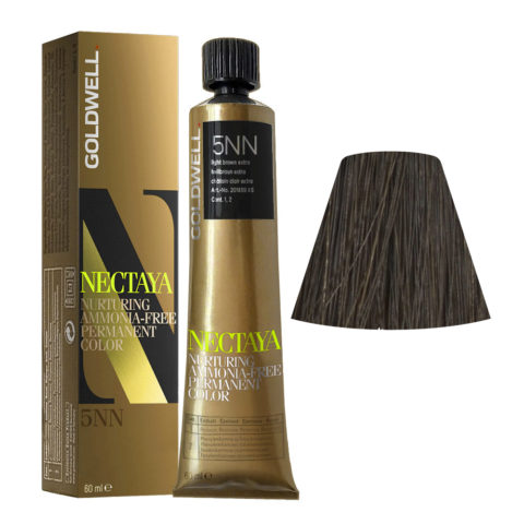 5NN Châtain clair extra Goldwell Nectaya Naturals tb 60ml