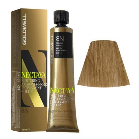 8N Blond clair Goldwell Nectaya Naturals tb 60ml