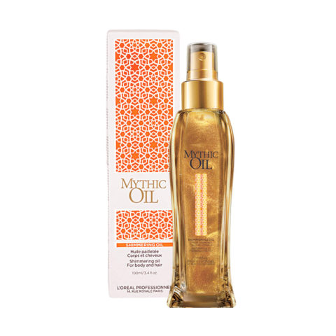L'Oreal Mythic oil Shimmering oil corps et cheveux 100ml