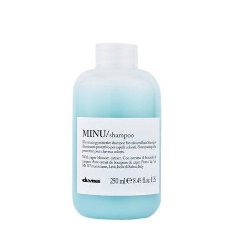 Davines Essential hair care Minu Shampoo 250ml - shampooing illuminant