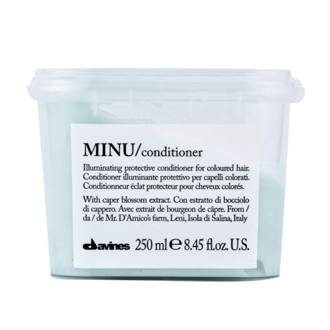 Davines Essential hair care Minu Conditioner 250ml - Conditionneur illuminant