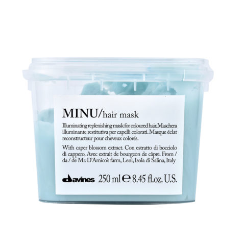 Davines Essential hair care Minu Hair mask 250ml - Masque illuminant