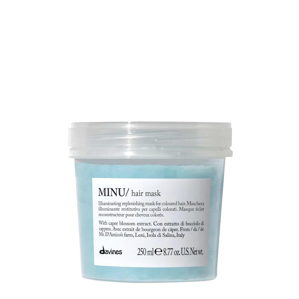 Davines Essential hair care Minu Hair mask 250ml - Masque illuminant