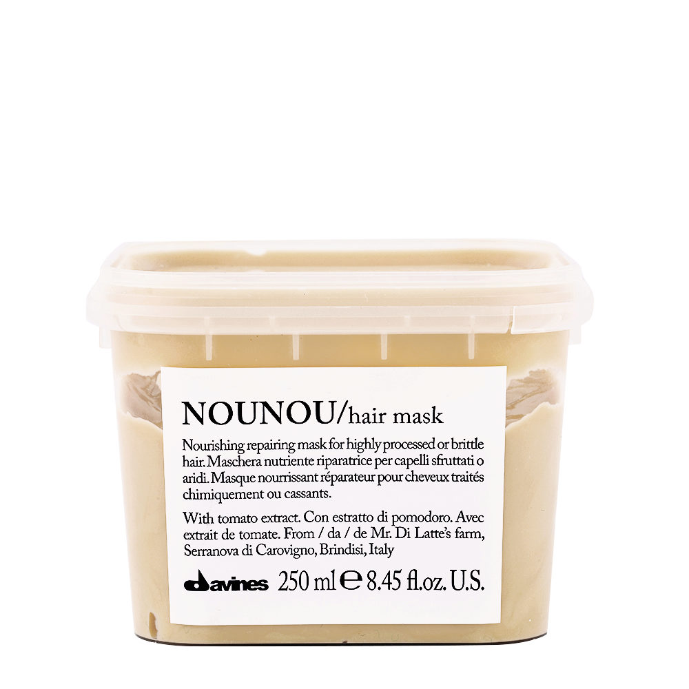 Davines Essential hair care Nounou Pak Hair Mask 250ml - Masque réparateur et nourrissant
