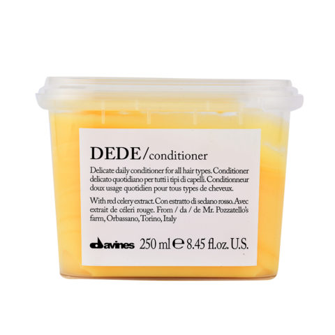 Davines Essential hair care Dede Conditioner 250ml - Conditionneur quotidient