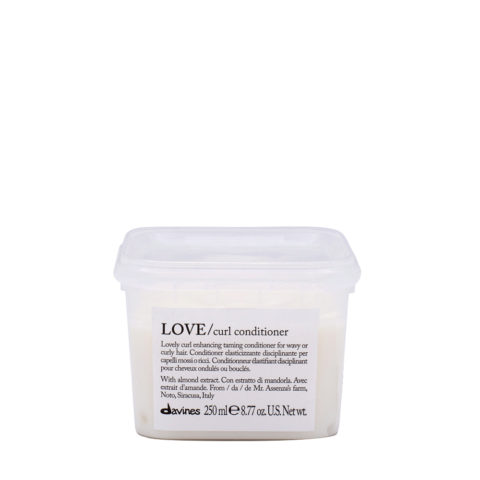 Davines Essential hair care Love curl Conditioner 250ml - Conditionneur assouplissant et disciplinant