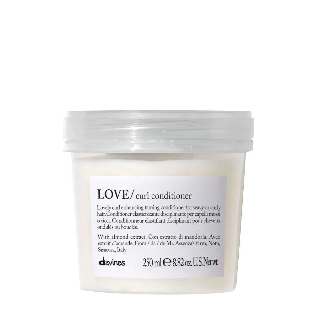 Davines Essential hair care Love curl Conditioner 250ml - Conditionneur assouplissant et disciplinant