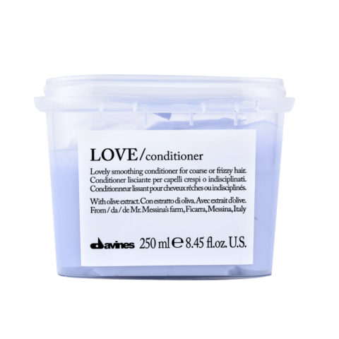 Davines Essential hair care Love smooth Conditioner 250ml - Conditionneur lissant
