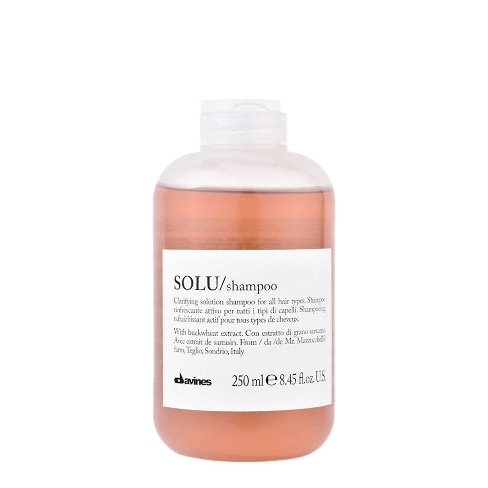 Davines Essential hair care Solu Shampoo 250ml - Shampooing rafraîchissant