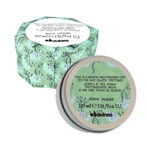 Davines More inside Medium hold finishing gum 75ml - crème de coiffage texturisante
