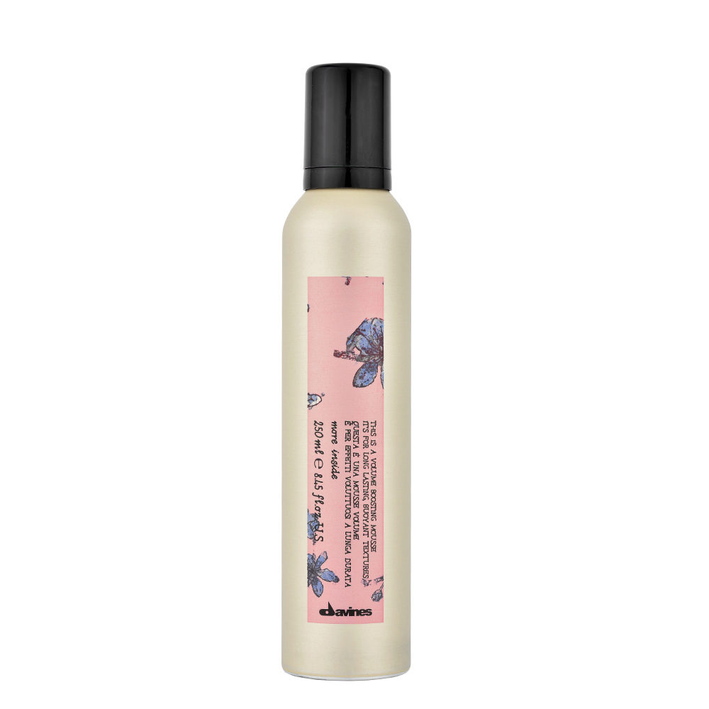 Davines More inside Volume boosting mousse 250ml - Mousse volumiante