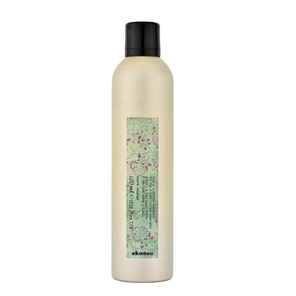 Davines More inside Strong hairspray 400ml - laque fort