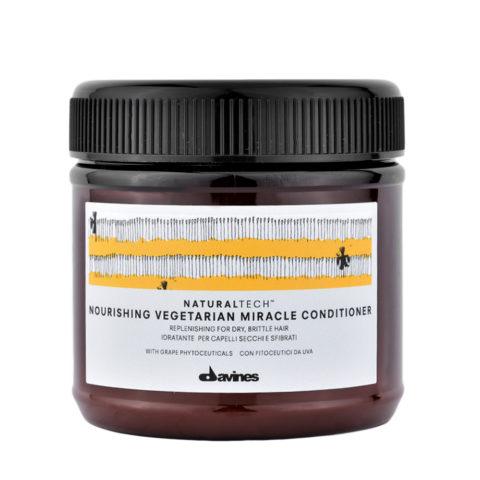 Davines Naturaltech Nourishing Vegetarian Miracle Conditioner 250ml - Masque restructurant