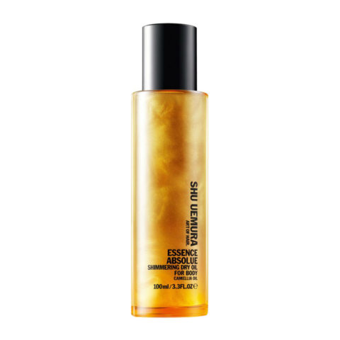 Shu Uemura Essence absolue Shimmering dry oil for body 100ml - huile sèche corps