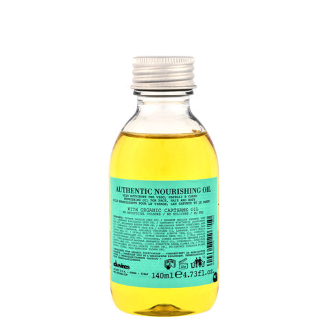 Davines Authentic Nourishing oil 140ml - huile nourrissante pour les cheveux et le corps