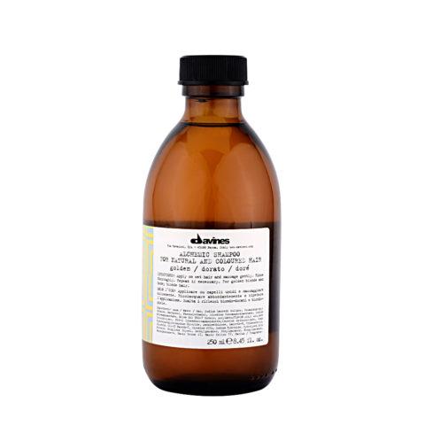 Davines Alchemic Shampoo Golden 280ml - Shampooing pour cheveux blonds