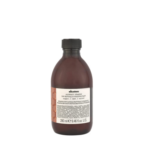 Davines Alchemic Shampoo Copper 280ml - Shampooing pour cheveux cuivrés