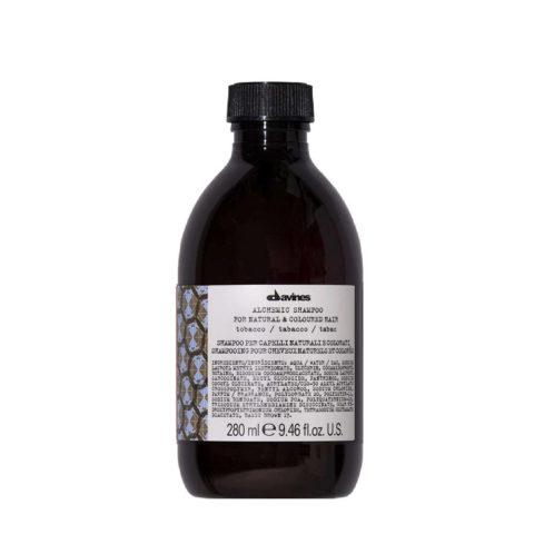 Davines Alchemic Shampoo Tobacco 280ml - Shampooing pour cheveux châtains