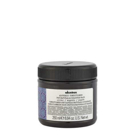 Davines Alchemic Conditioner Silver 250ml - Crème Conditionnante Cheveux Platines