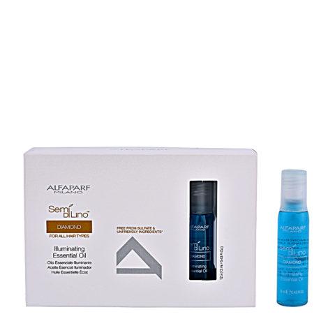 Alfaparf Semi di lino Diamond Illuminating essential oil 12x13ml - soin intensif effet lumière